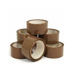 Lepiaca páska za nízku cenu 48mm 66m hnedá lacná