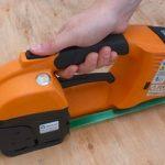 GT ONE 10-16mm páskovač na PET a PP viazaciu pásku s batériou a nabíjačkou 4