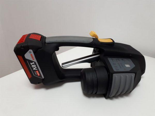 Messersi MB620 ručný páskovač 12-16mm na PET a PP viazaciu pásku s batériou a nabíjačkou 3