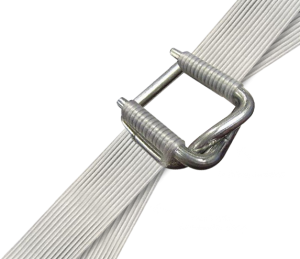 Composite corded strap 16mm, 19mm or 25mm cheap clips