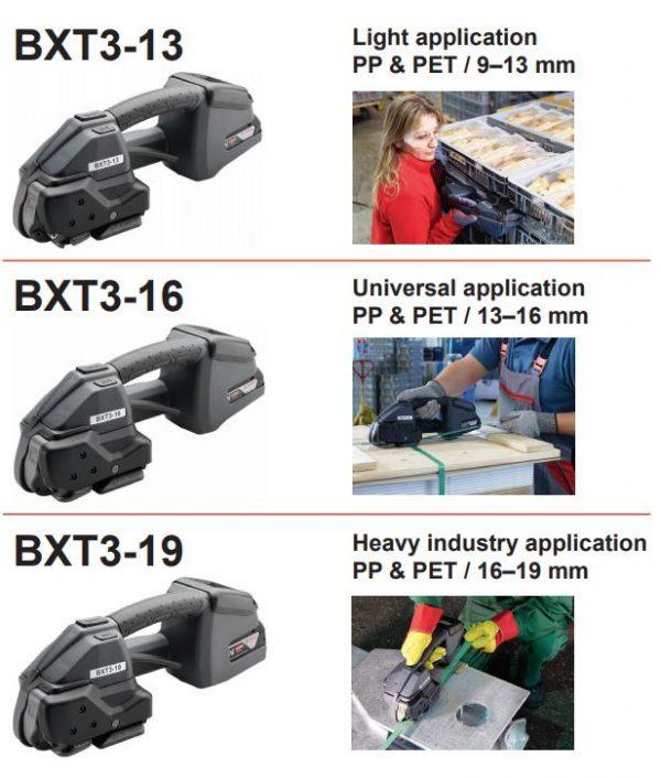 Signode-BXT3-batériová-páskovačka-škála